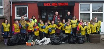 Farr Primary School Kids Litter picking day