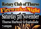 Fireworks Display Thurso