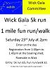 Fun Run - Wick Gala