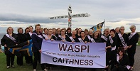 Caithness WASPI group at John O'Groats