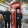 Dounreay Apprentices Replica Phone Box