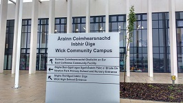Assurances on Wick Campus by Highland council