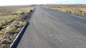 Killimster Moss Road Rebuilt
