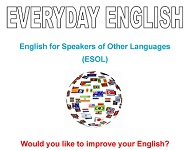 English for Speakers of Other Lnaguges - Classes every Tuesday