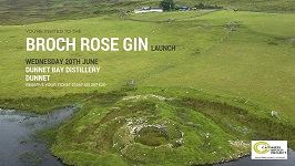 Broch Rose Gin Launch event
