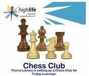 Chess Club at Thurso Library
