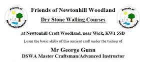 Dry Stone Walling and Scythe courses