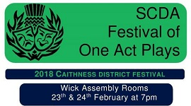Festival of One Act Plays in Assembly Rooms, Wick