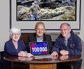 Wick Voices trio celbrate 100,000 listenings