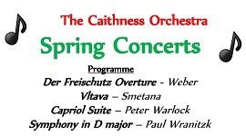 Caithness Orchestra Spring Concerts 2019