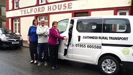 New Eco bus for Caithness Voluntary Transport
