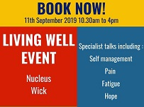 Living Well Event 11 September 2019 at Nucleus, Wick