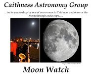 Moon watch in Thurso and Wick