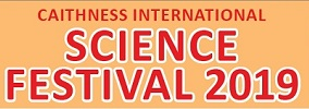 Caithness Internationla Science Festival 2019 Programme of events