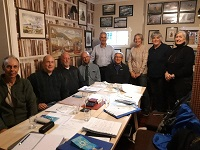 Meeting of John O'Groats Trail and Northern Pilgrims Way