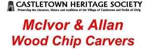McIvor and Allen wood chip carvers exhibition