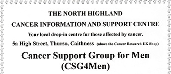 Mens Cancer Support Group Meetings for 2020