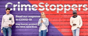 Crimestoppers covid advice