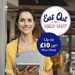 Eat Out Up To £10 off