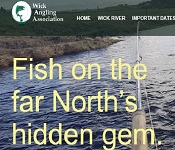 Wick Angling Association new web site launched