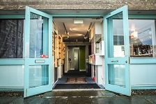 Lyth Arts entrance - The centre has been awarded money from the Covid19 fund