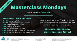 Free Third Sector Masterclasses