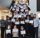 Wick High pupils win SQA Award for digital security
