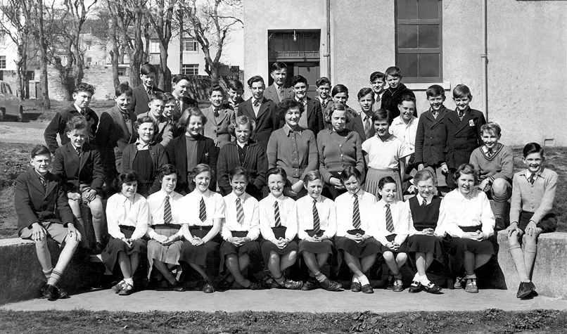 Caithness Cws School Days Miller Academy 1955 56