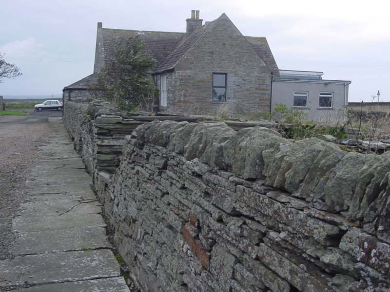 Photo: Playground Wall To School