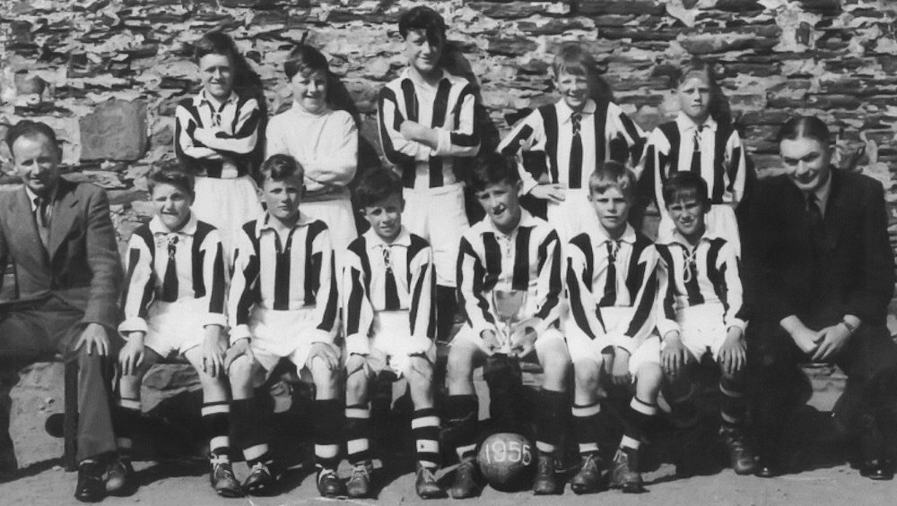 Pulteneytown Academy Football Team 1955