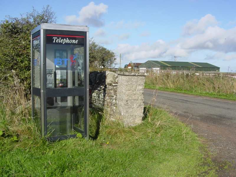 Photo: Lyth Telephone Box Area