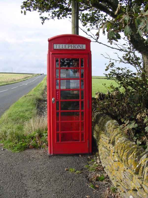 Photo: Near Murkle Telephone Box