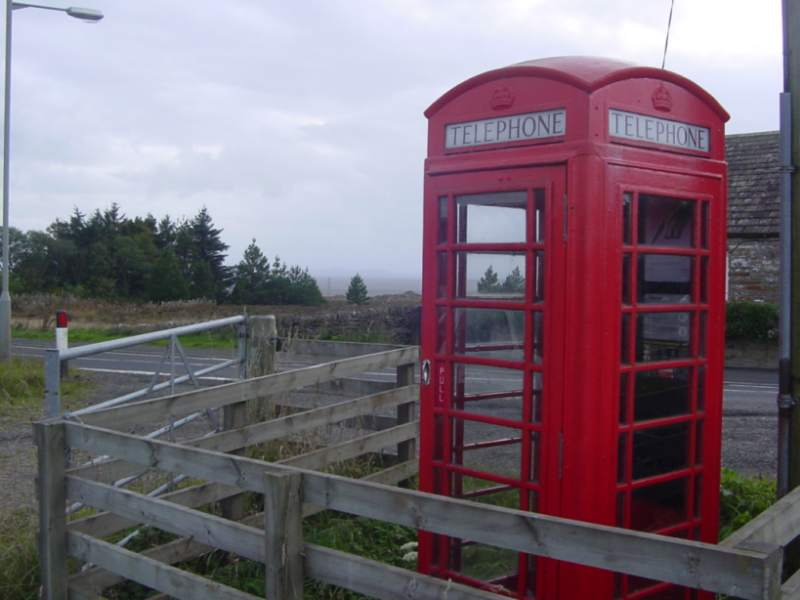 Photo: Spittal Telephone Box