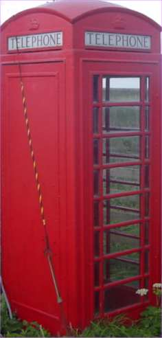 Photo: Spittal Telephone Box