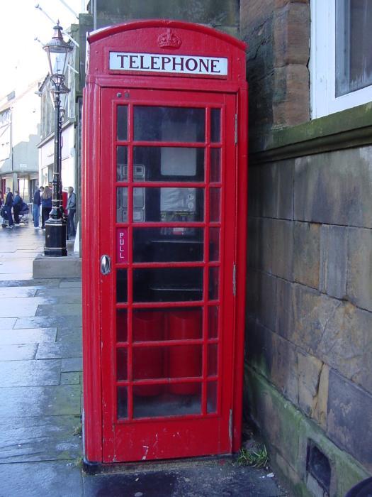 Photo: Thurso Centre Telephone Box