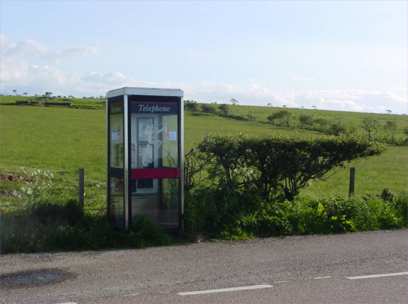 Photo: Watten Telephone Box