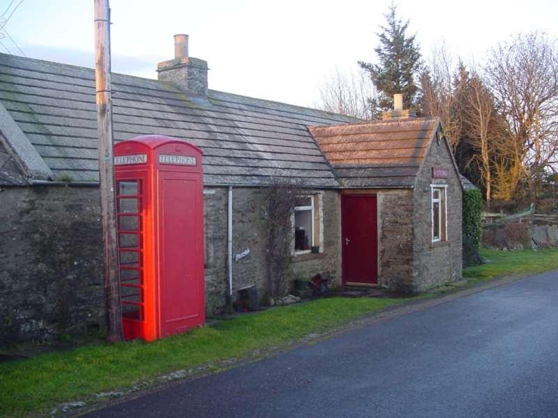 Photo: Telephone Box At Westerdale