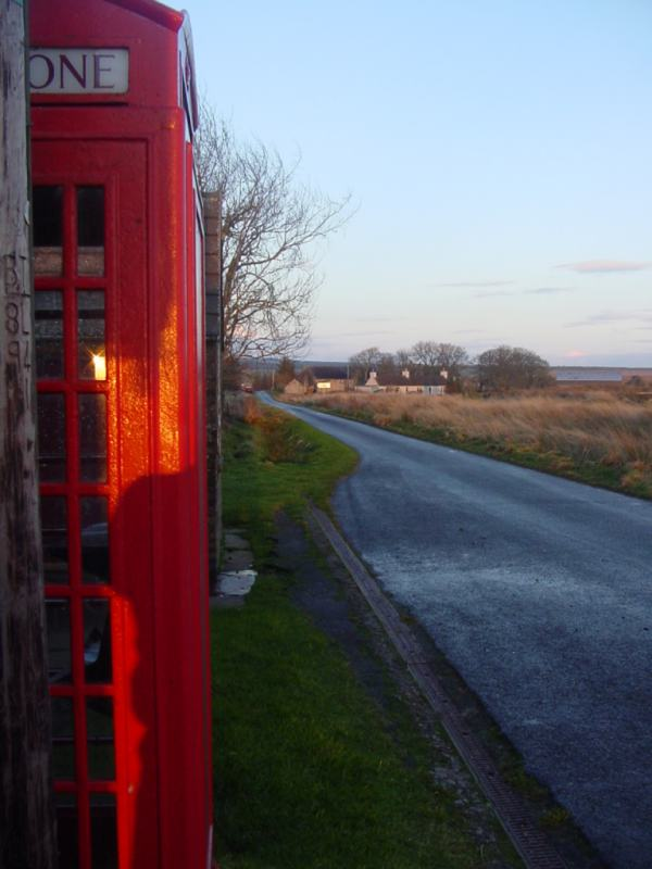 Photo: Telephone Box At Westerdale
