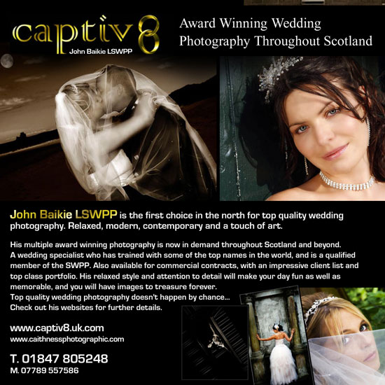 Caithness Photographic Advert