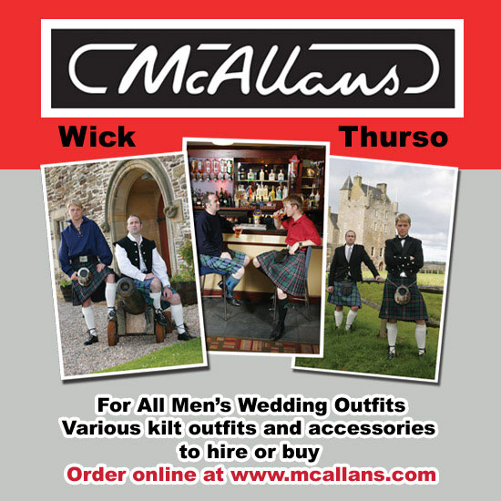 McAllans Advert
