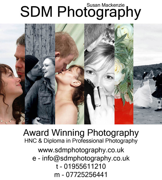 SDM Photography Advert
